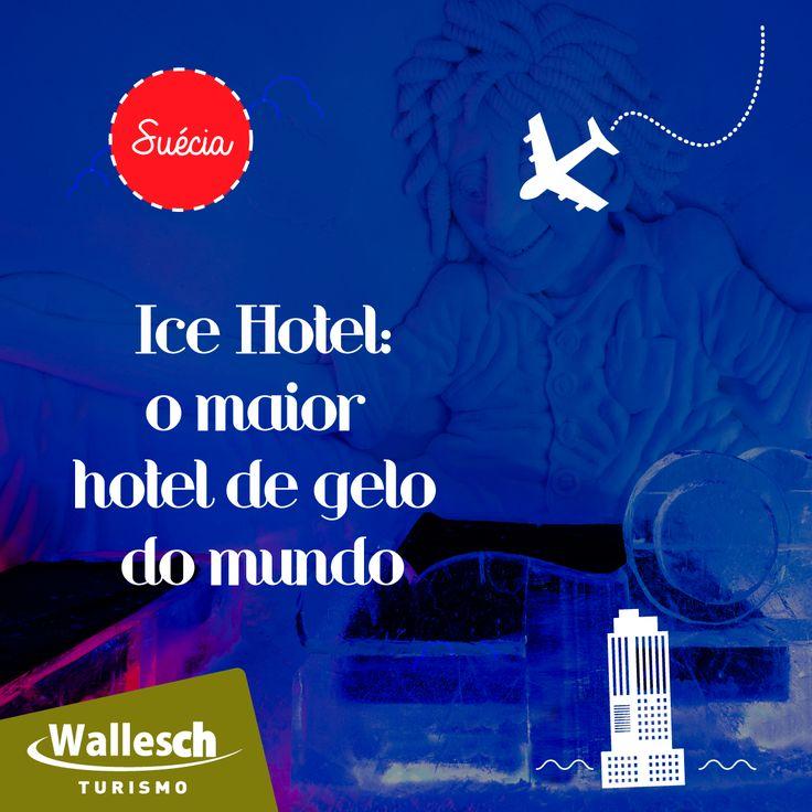Com 25 anos de existência, o Ice Hotel, na Suécia é o maior hotel de neve e gelo do mundo! Cerca de 50 mil visitantes de todo o mundo vão ver o Hotel de Gelo a cada ano! Lá você pode viver a tranquilidade, ver a aurora boreal e curtir a atividades de neve.