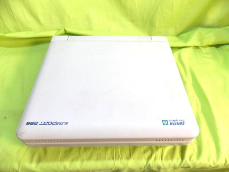 VINTAGE ZENITH DATA SYSTEMS SLIM SPORT 286 LAPTOP COMPUTER FOR PARTS OR REPAIR - http://electronics.goshoppins.com/vintage-computing/vintage-zenith-data-systems-slim-sport-286-laptop-computer-for-parts-or-repair/