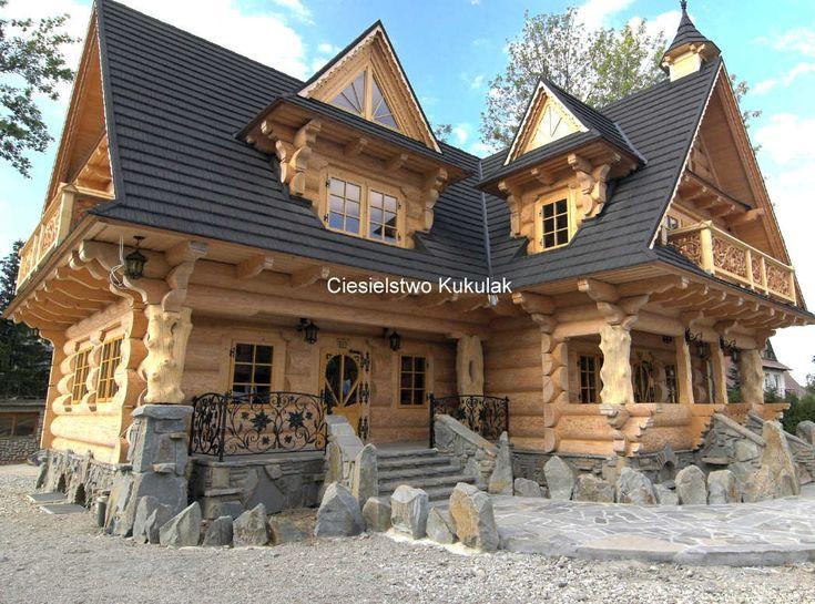 Wykończenia obiektów murowanych w drewnem - lista firm w Polsce - Panorama Firm