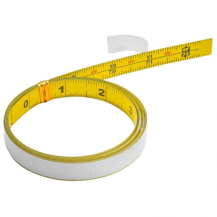 Self Adhesive Measuring Tape In 2020 Tape Measure Trim Router Tape