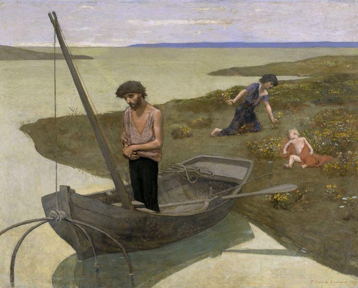 Pierre Puvis de Chavannes, Le Pauvre Pêcheur (1881), musée d'Orsay