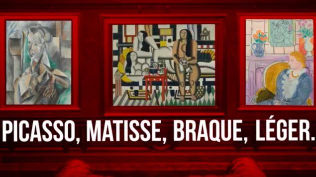 bande annonce de l'expo à Liège consacré à Paul Rosenberg