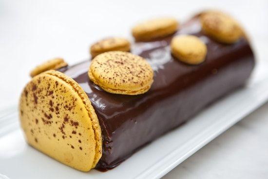Recette de Bûche chocolat-passion de Pierre Hermé : la recette