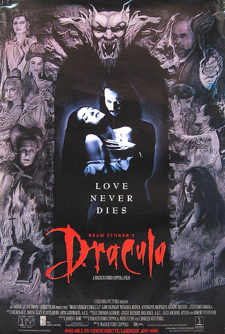 Dracula di Bram Stoker è un film del 1992 prodotto e diretto da Francis Ford Coppola, tratto dal romanzo Dracula dello scrittore irlandese Bram Stoker.