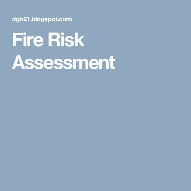 Fire risk assessment ile ilgili Pinterestu0027teki en iyi 25u0027den fazla - risk assessment