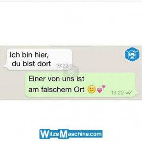 Lustige WhatsApp Bilder und Chat Fails 206 - Falscher Ort