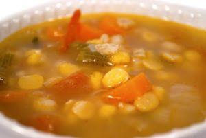 Sárgaborsó leves indiai módra ~ Receptműves
