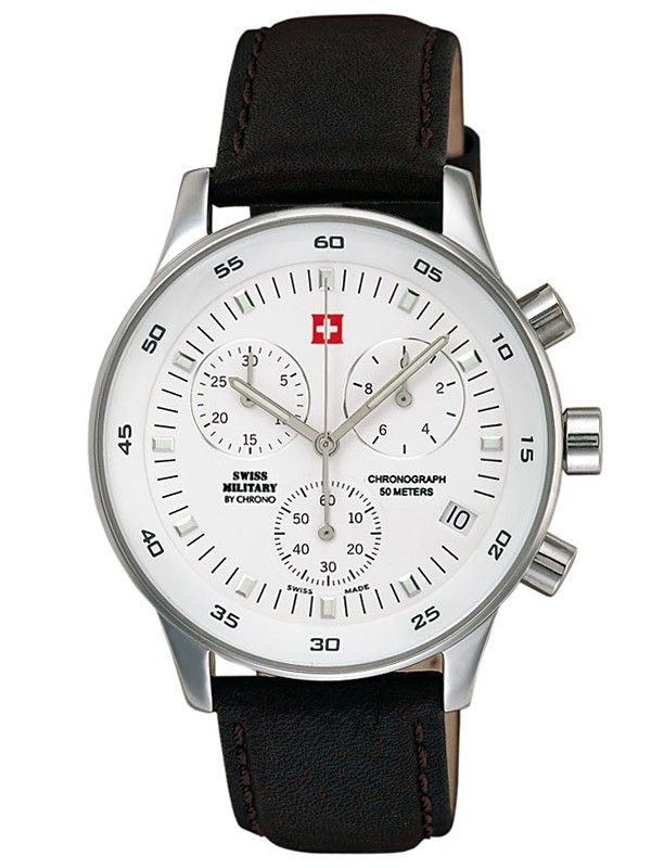 Ceasuri de mana. Ceas Barbatesc Swiss Military 17700ST-2L Chronograph