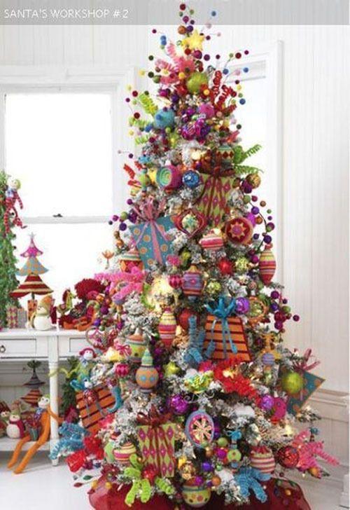 19 besten weihnachtsbaum inspiration bilder auf pinterest weihnachten bunt und weihnachtsbaum. Black Bedroom Furniture Sets. Home Design Ideas