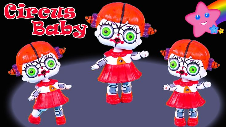 Circus Baby Custom LOL Surprise Doll Five Nights at Freddy's Sister Loca...