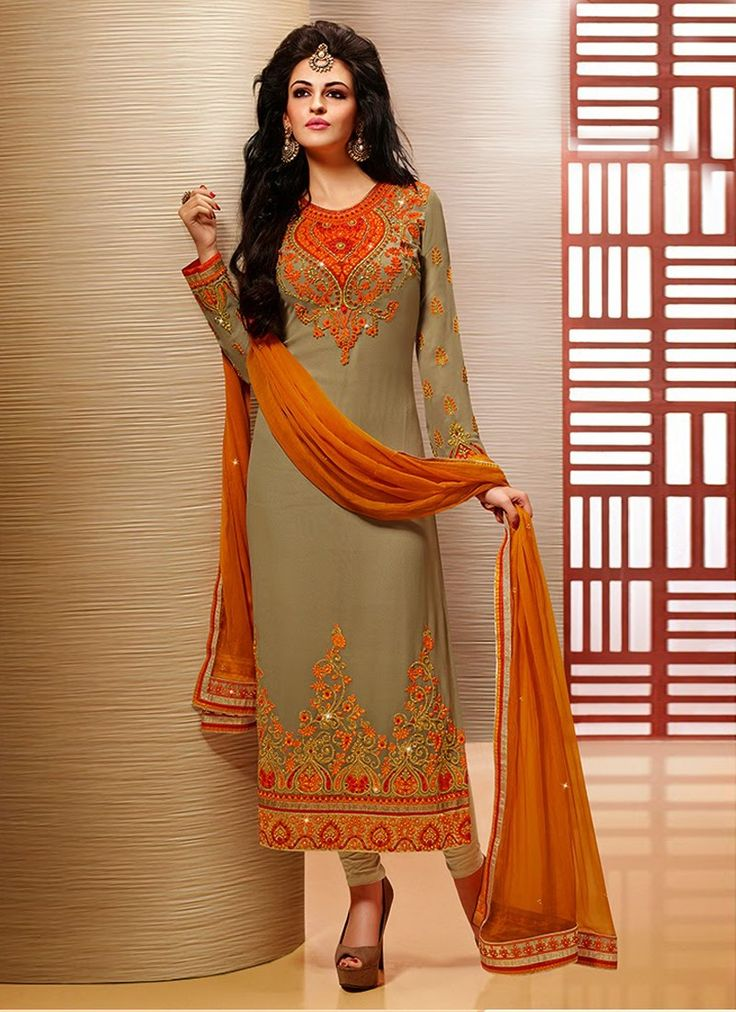 Faux Georgette Pakistani Salwar Kameez | Pakistani formal ...