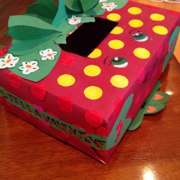 Shopkins Strawberry Kiss Valentine Box
