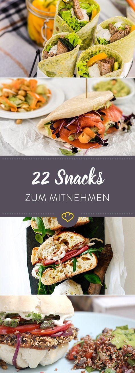 Dein Besteck hat Pause: 22 herzhafte Snacks zum Mitnehmen