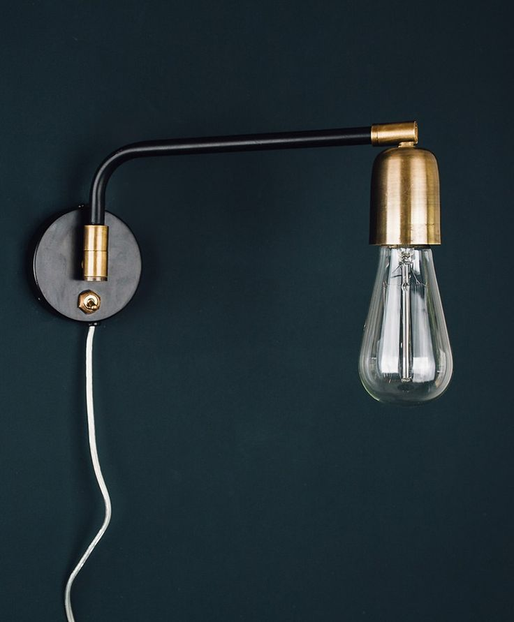 Armstrong | Swing arm wall light | Take a look at this website....... Olive & the Fox