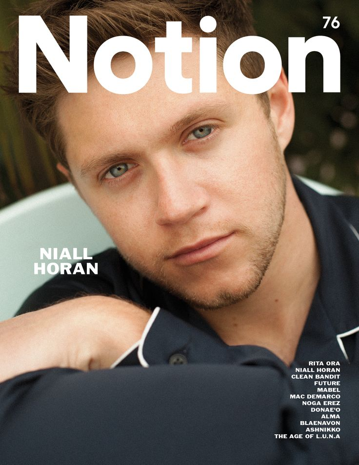 Get your hands on Niall Horan's Notion 76 cover! - Notion Magazine