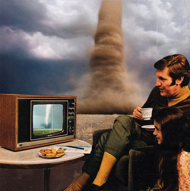 Joe Webb - art - collage - screen - TV                                                                                                                                                                                 Plus