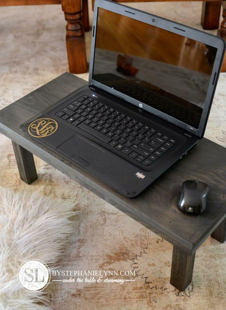 diy laptop desks for your lap    Found on bystephanielynn.com