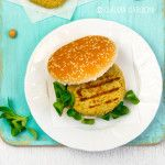 Burger di ceci per il Food Photography Friday