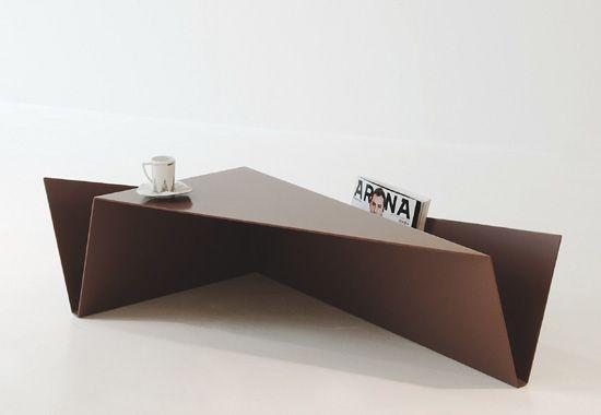 folded coffee side table