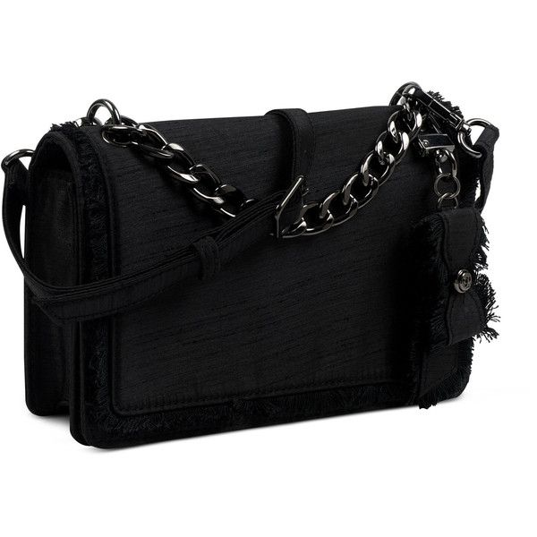 Nine West Colma Clutch ($69) ❤ liked on Polyvore featuring bags, handbags, clutches, black, nine west handbags, nine west, nine west clutches and nine west purses