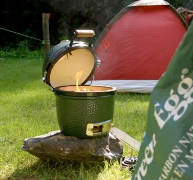 Mini Big Green Egg  #kernowfires #big #green #egg #bbq #outdoors #garden #cooker #smoker #wadebridge #redruth #cornwall