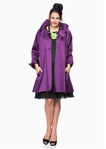 #Eplisse Theatre Coat #plussize #curvy
