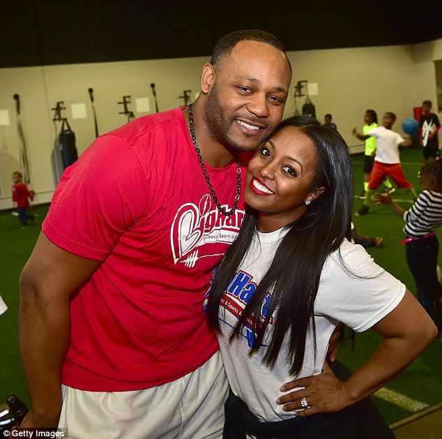 Divorce drama drags on:Keshia Knight Pulliam's estranged husband has filed a motion in Fulton County Family Court claiming that hthe actress violated their custody agreement (Ed Hartwell and Pulliam in January 2016 above)