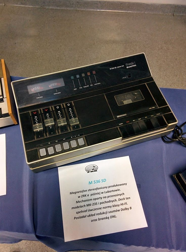 Magnetofon sterefoniczny Unitra 536 SD