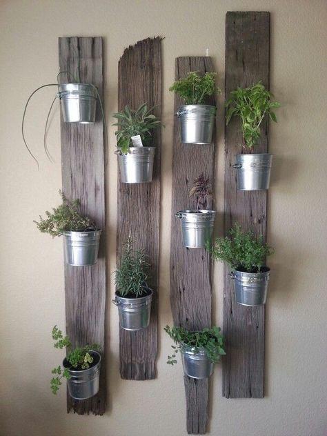 Te mostramos 10 ideas originales y sencillas para tener un jardín en el interior de tu casa