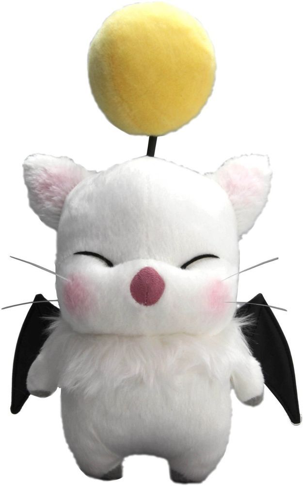 FINAL FANTASY XIV Kuplu Kupo Moogle Plush Stuffed Doll Square Enix Free Shipping