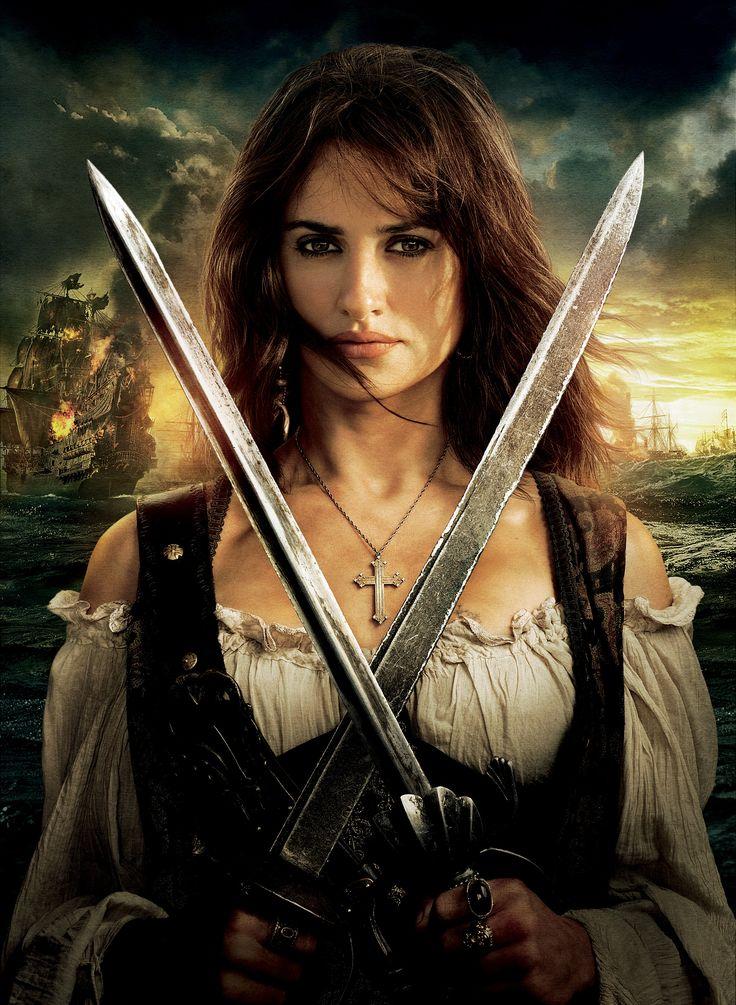 Angelica Teach è l'antagonista femminile di Pirati dei Caraibi - Oltre i confini del mare, dove è interpretata da Penélope Cruz. È la figlia di Barbanera.