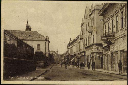Eger; Szécsényi úti részlet | Képcsarnok | Hungaricana