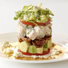 ... Pressed/Stacked Salads on Pinterest | Ahi poke, Red beets and Crabs