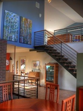 Install Or Replace Stair Railings Design Ideas, Pictures, Remodel and Decor