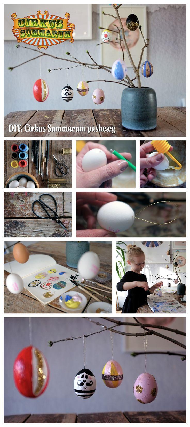 DIY Easter eggs. Læs mere på www.cirkussummarum.dk @myhouseins