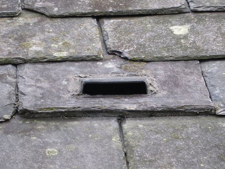Beddoes Products Bat Access Roof Tile Vent For Slate Roof