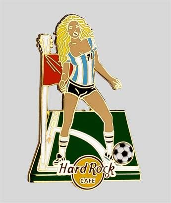 Soccer Girl Series Blonde 14 | Hard Rock Shop