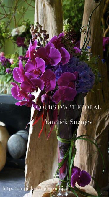 フラワーレッスン |Parisian Florist Yannick Suznjev