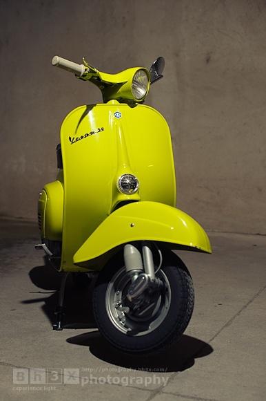 Vespa 50, via Flickr.