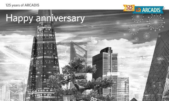 125 Years of Arcadis - Cover