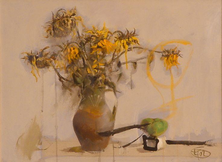 Title: Flori V / Style: Acrylic on Canvas