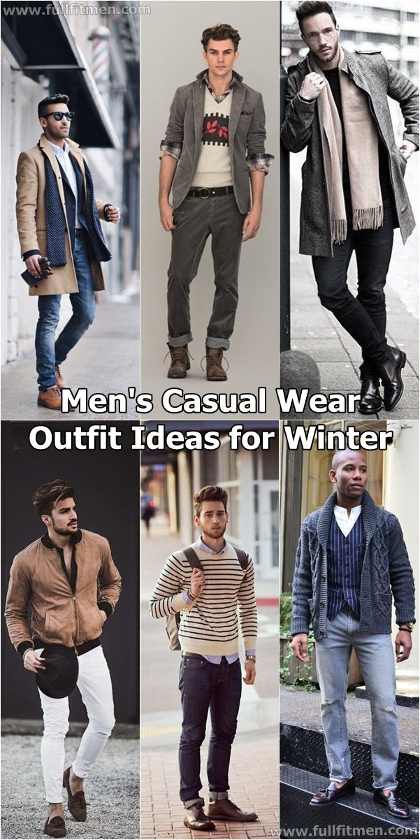 mens casual wear for winter