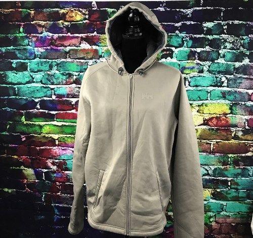 43.56$  Buy now - http://viytb.justgood.pw/vig/item.php?t=ls5eir29714 - Women's Helly Hansen Brown and Pink Zip Up Hoodie Sweatshirt Fleece Lined