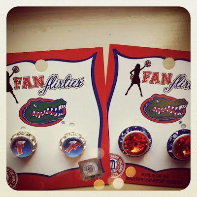 Gameday Glamour: Fan Flirties. Jewelry for game days. #GatorsFans Flirty, Stylish Gameday, Flirty Gameday, Gameday Fashion, Gameday Glamour