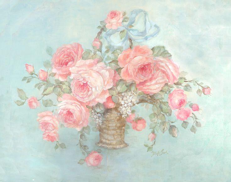 Mother's Roses - Debi Coules Romantic Art