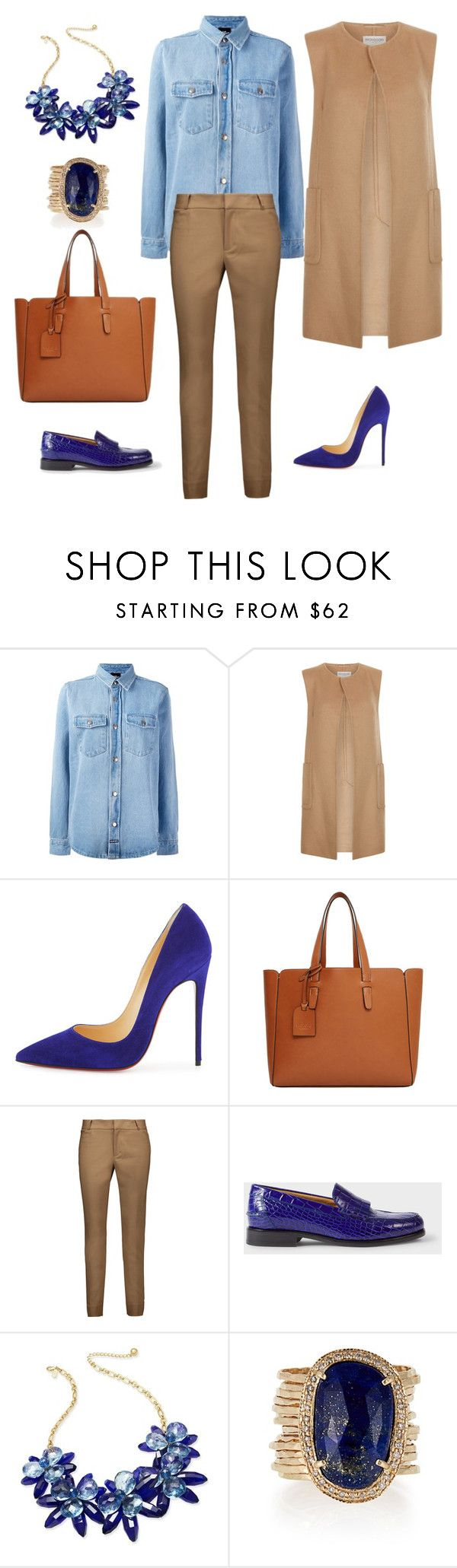 """Без названия #39"" by elenaspring on Polyvore featuring мода, LES (ART)ISTS, Monsoon, Christian Louboutin, Violeta by Mango, Raoul, PS Paul Smith, Kate Spade и Jacquie Aiche"