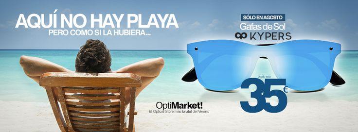 ¿Que se te han acabado ya las vacaciones? En OptiMarket tenemos la fórmula perfecta para superar esa depre posvacacional...   Porque aquí no hay playa... pero como si la hubiera.