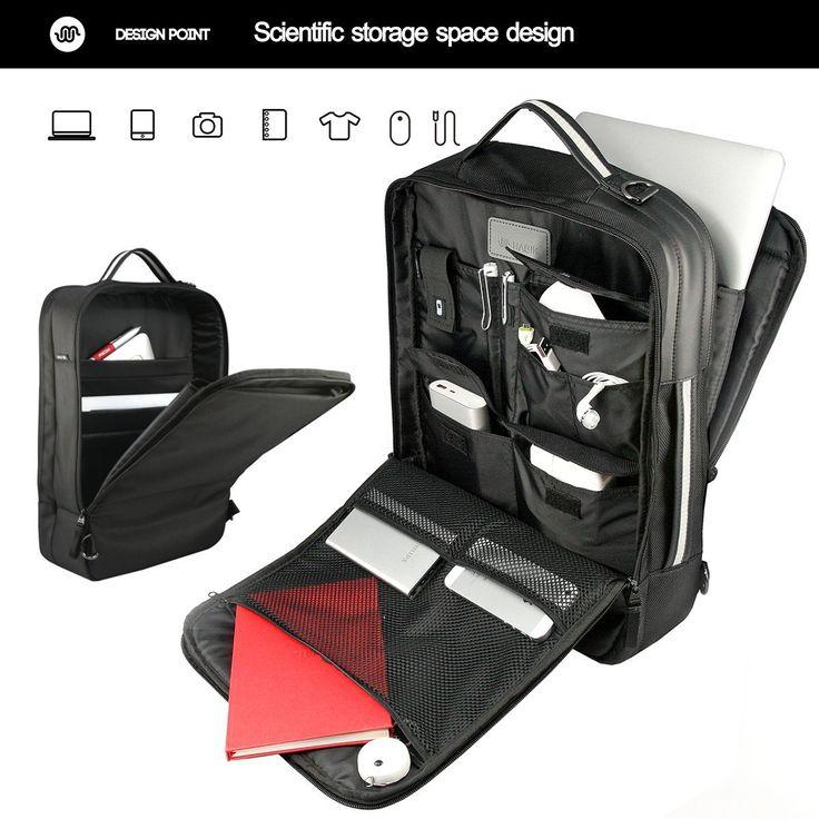Habik multifunzione zaini/ messenger borsa / ventiquattrore per PC portatili macbook 13 '' 15 '': Amazon.it: Valigeria