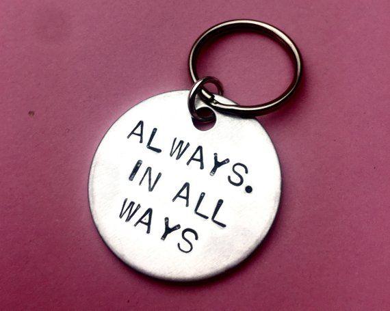 Keychain for Boyfriend Always / Christmas gift for Boyfriend / Long
