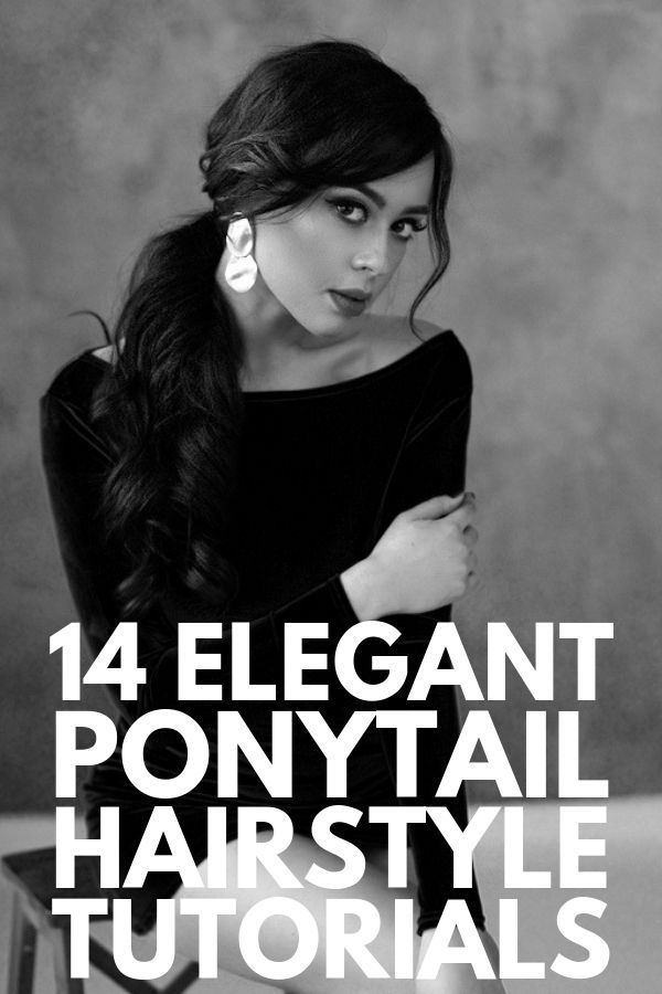 14 Straightforward and Fashionable Ponytail Hairstyles for All Hair Lengths